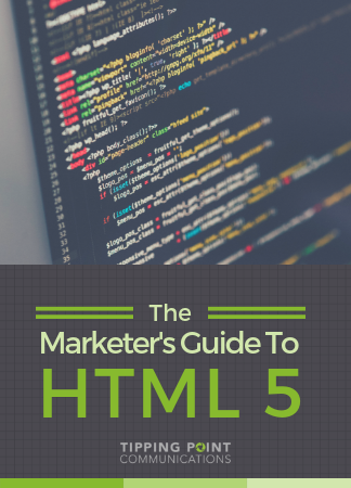 Tipping Point Communications Ultimate Guide To HTML 5